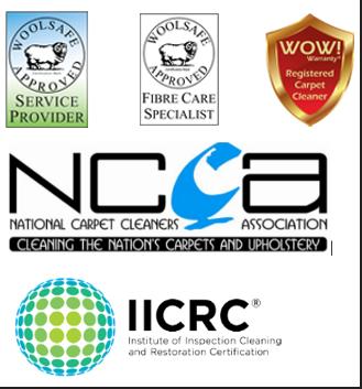 Woolsafe, NCCA, IICRC