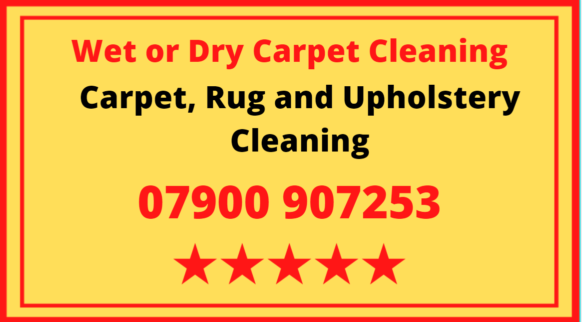 Wet or Dry Carpet, Rug and Upholstery Cleaning