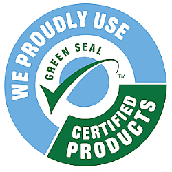 Green Seal Products Proudly Used